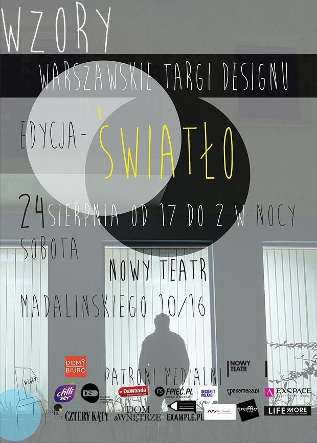 Wzory - Światło to wyjątkowa edycja Warszawskich Targów Designu.