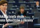 """Szydło: """"Polska przyjęła milion uchodźców z Ukrainy"""". A co pokazują liczby?"""
