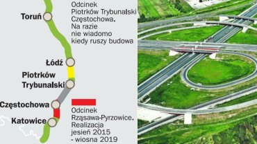 """Kiedy dojedziemy A1 znad morza na po�udnie Polski? """"W ca�ym planie jest jedna wyrwa"""""""
