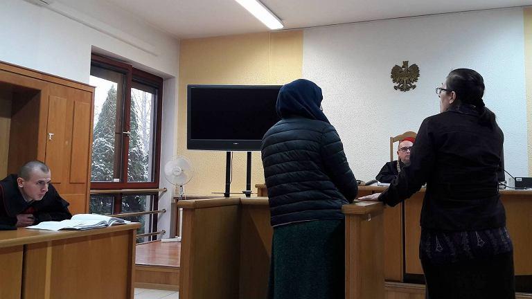 Proces przeciwko trzem Czeczenom. Sąd w Białej Podlaskiej, 29.11.2017
