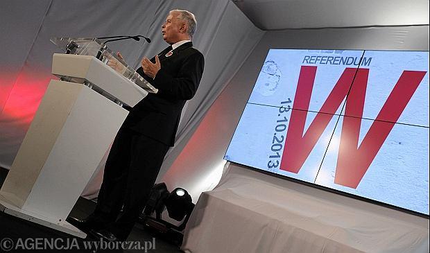 Referendum w Warszawie to nie powstanie