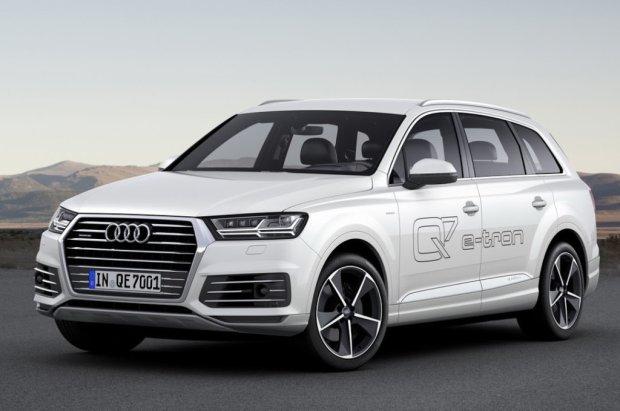 Salon Genewa 2015 | Audi Q7 e-tron | Oszczędny kolos