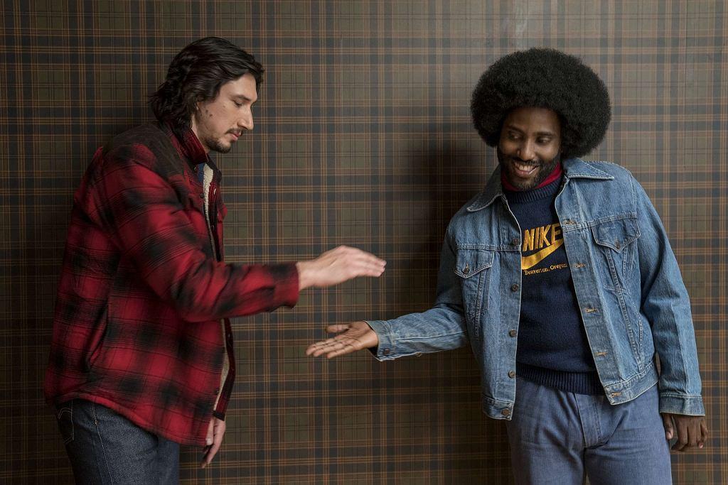 Adam Driver i John David Washington w filmie 'Czarne Bractwo. BlacKkKlansman', reż. Spike Lee / Fot. David Lee