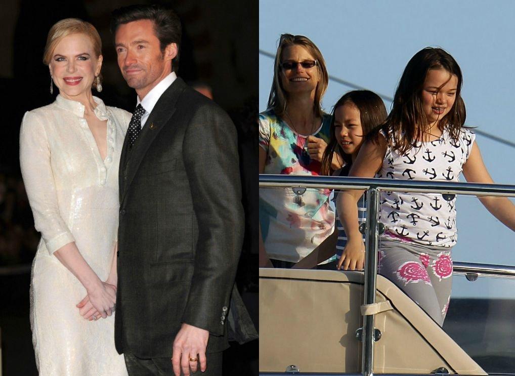 Kidman i Hugh Jackman: rodzice chrzestni Grace i Chloe Murdoch