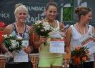 Medale Buczy�skiej w turnieju tenisowym juniorek