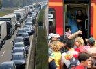 Austria: zaostrzone kontrole, pociągi pełne uchodźców zatrzymane na granicy