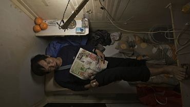'Mieszkania-trumny' w Hongkongu