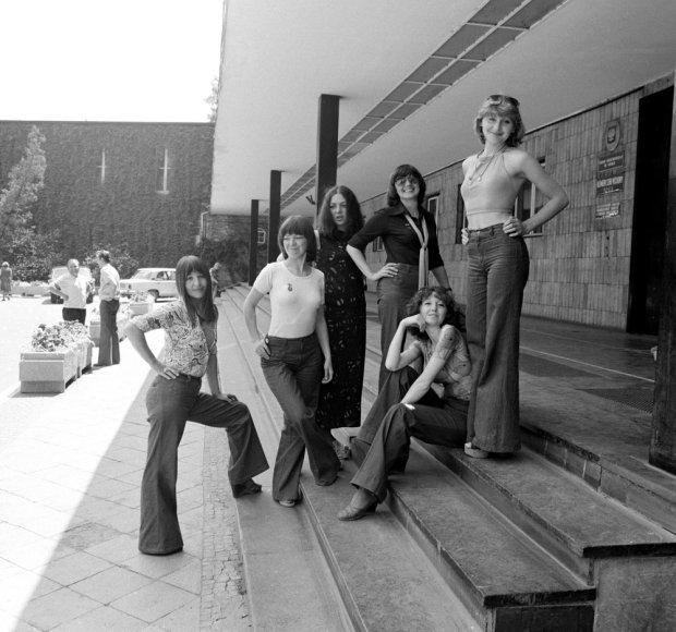 Nie każdy z artystów mógł wybrać się do Pająka. Tak było to w przypadku Alibabek w 1968 roku: