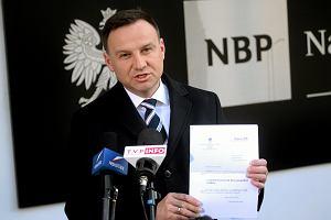 Andrzej Duda wyci�ga zwietrza�e euro. Kiedy Polska w strefie euro?
