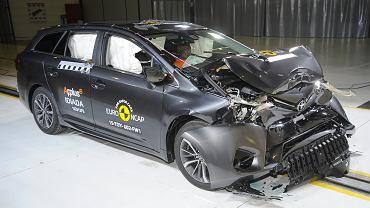 Toyota Avensis - test zderzeniowy
