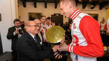 Siatkarze Asseco Resovii z wizytą u prezydenta Rzeszowa po srebrnym medalu Ligi Mistrzów