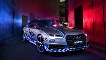 Audi S7 Sportback australijskiej policji