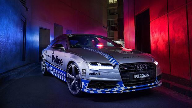Audi S7 | Nowy radiowóz policji