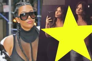 Kim Kardashian, Emily Ratajkowski