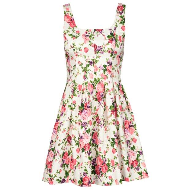 1da4331e0734 Zdjęcie numer 1 w galerii - Sukienki w kwiaty z wiosenno - letnich kolekcji