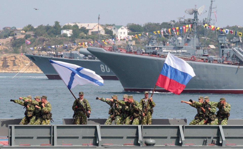 Rosyjska armia podczas manewrów