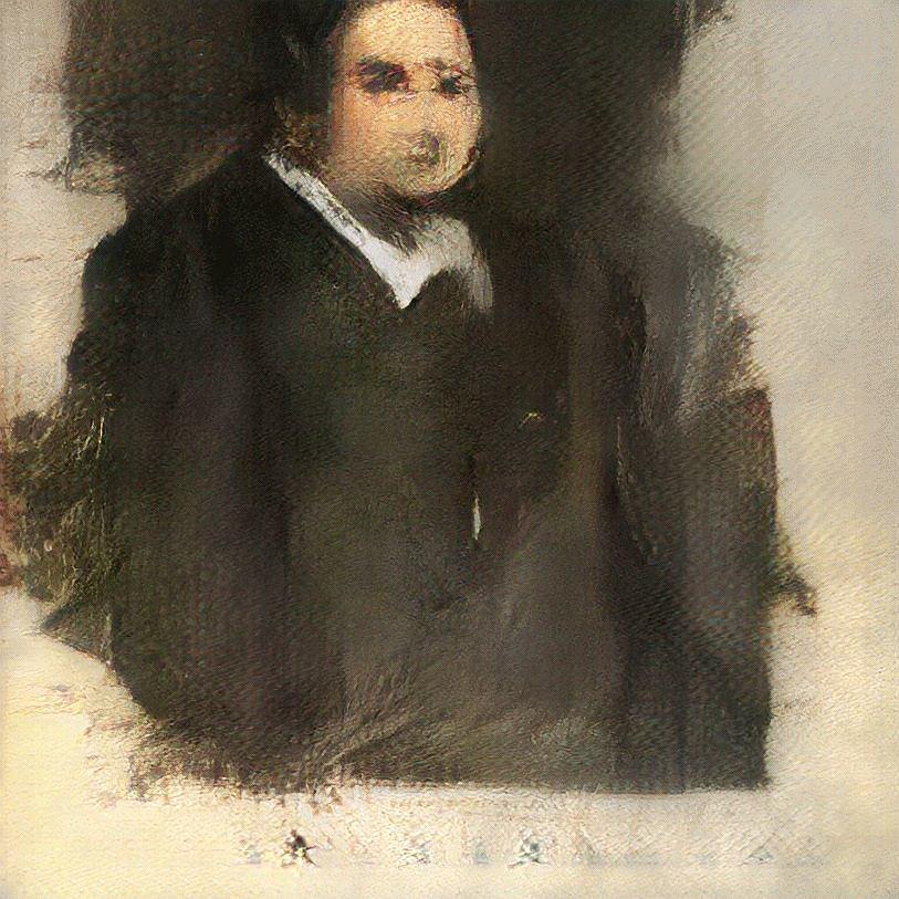 'Edmond De Belamy' - portret stworzony przez sztuczną inteligencję