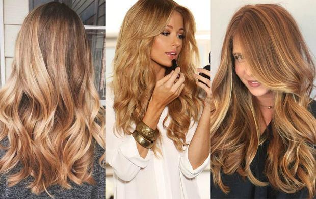 Karmelowy Blond Kolor Lata Zmień Kolor Włosów Na Wakacje