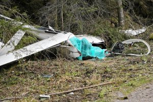 Szybowiec z polskim pilotem rozbił się w Tatrach. Mężczyzna nie przeżył wypadku