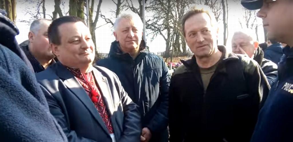 Ukraiński polityk Oleksandr Pyrożyk miał gloryfikować Banderę