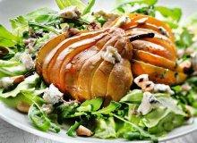 Sałatka gruszkowa z orzechami i serem - ugotuj