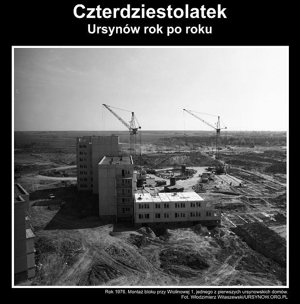 Wystawa z okazji 40-lecia Ursynowa