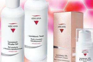 Arkana: kosmetyki z kwasem laktobionowym