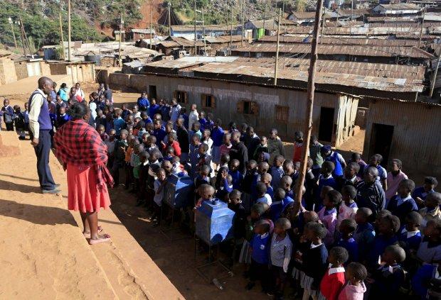 Slumsy w Kiberze