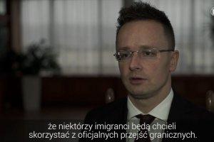 Szef węgierskiego MSZ krytykuje Chorwację za nieporadność w kryzysie migracyjnym