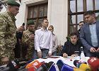Odysei Saakaszwilego ciąg dalszy. Choć nie ma już ukraińskiego paszportu, nadal chce być tam politykiem