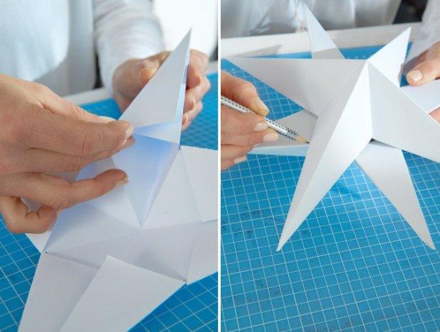 Gwiazda z papieru 3D