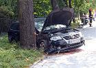 Wypadek w Al. Ujazdowskich