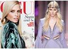 """Lara Stone powraca na szczyt? W sesji okładkowej dla """"Vogue UK"""" towarzyszy jej kot i kiczowaty błysk kreacji"""