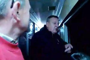 Lokomotywa wypad�a z tor�w. Poci�g dotar� do Warszawy 169 minut po czasie [WIDEO]