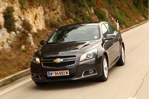 Chevrolet Malibu LTZ 2.0D   Pierwsza jazda