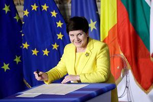 Beata Szydło po podpisaniu Deklaracji Rzymskiej: Polska będzie pokazywać kierunki, w których powinna pójść UE