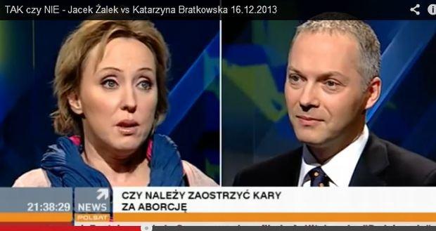 Katarzyna Bratkowska, Jacek Żelak