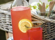 Lemoniada rabarbarowa - ugotuj