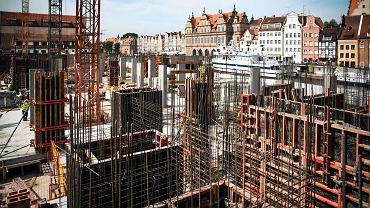 Boom budowlany w centrum Gdańska