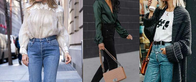 Jak nosić jeansy z wysokim stanem