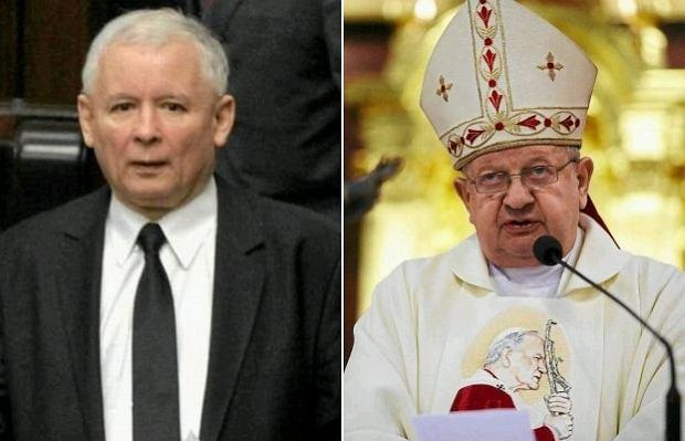 Jaros�aw Kaczy�ski, kardyna� Stanis�aw Dziwisz