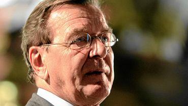 Schroeder mocno: obawy Polak�w nie mog� decydowa� o polityce UE wobec Rosji