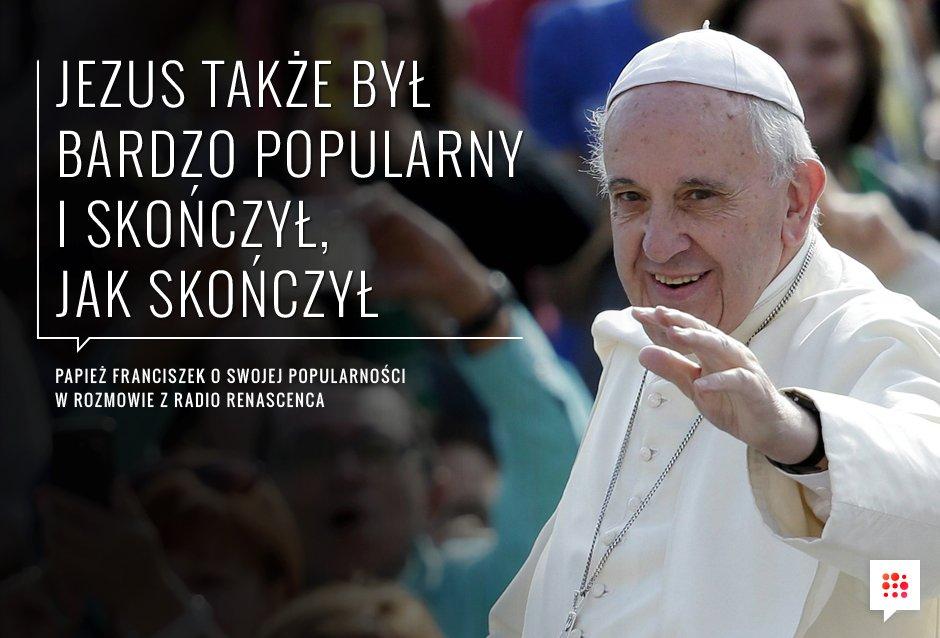 Papież Franciszek O Swojej Popularności Gazetapl