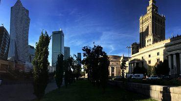 Dawna Chmielna 70 to jedna z droższych działek w stolicy - jest warta nawet 120-160 mln zł