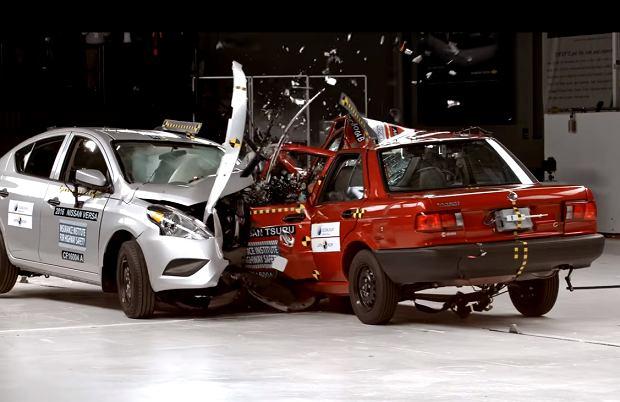 Crash test | 20 lat różnicy to wieczność