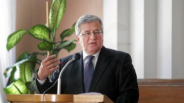 Bronisław Komorowski na Festiwalu Dyplomatycznym w Białymstoku