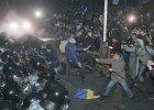 Pot�ne demonstracje proeuropejskie w ukrai�skich miastach. Najwi�ksze od Pomara�czowej Rewolucji w 2004 r.