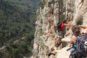 El Caminito del Rey - najbardziej przera�aj�ca trasa g�rska zostanie ponownie otwarta [HISZPANIA]