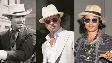 Clark Gable, Brat Pitt, Johnny Deep