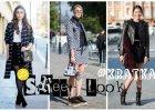 Ubrania w kratkę w streetowych lookach - podpowiedzi naszej stylistki